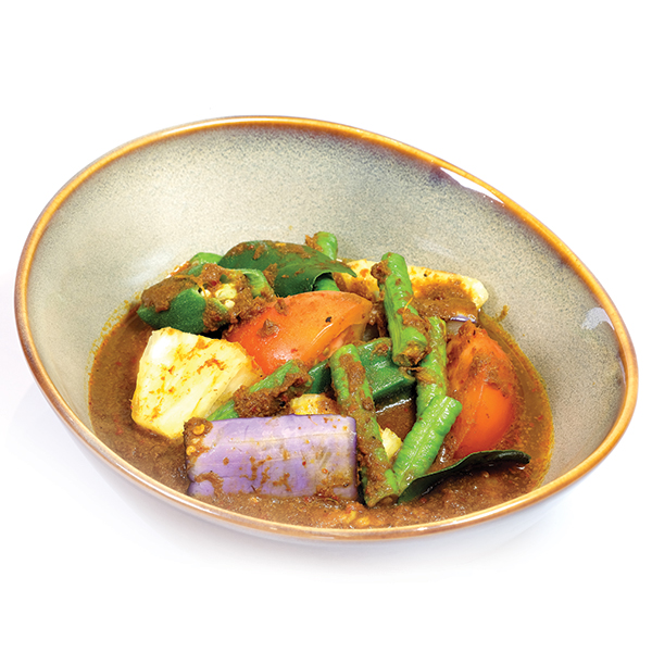 Assam Pedas Vegetables